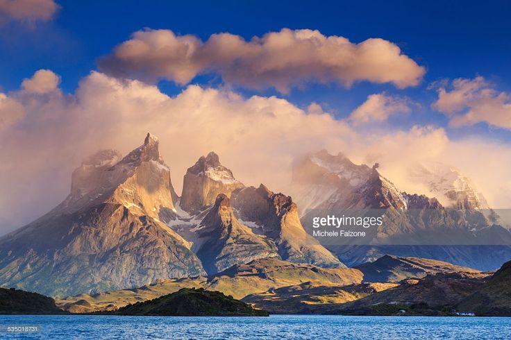 Foto de stock : Chile, Patagonia, Torres del Paine National Park