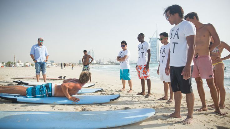Inside Dubai's Surfie Scene  It may not have the muscle of Mavericks or the pull of Pipeline, but Dubai's breaks have helped carve a small surfing scene that, for the region, is in a league of its own.