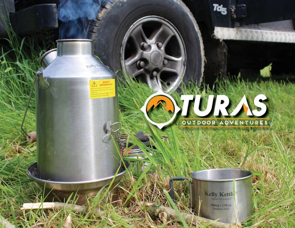 We have been taking the Kelly Kettle on most of our camping trips recently and are big fans. One of the advantages of using them include not having to purchase fuel  and of course they are env