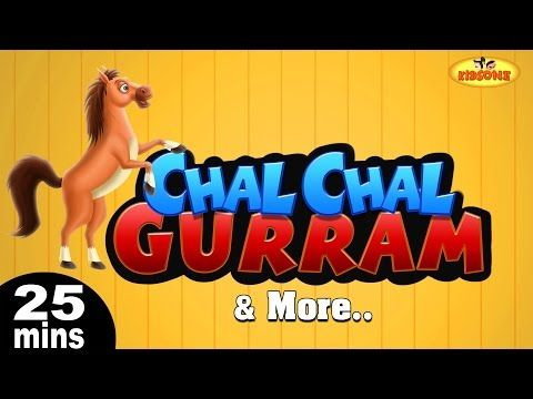 moral stories: Chal Chal Gurram & More Telugu Nursery 3D Rhymes 2...