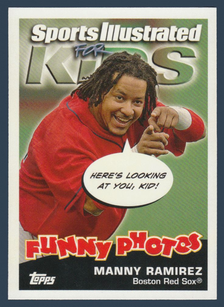 Manny Ramirez / Ronnie Belliard # 19 - 2006 Topps Opening Day Baseball Sports Illustrated For Kids