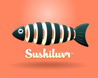 I love sushi! #logo #design