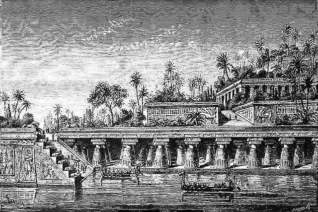 Les Jardins Suspendus de Babylone : lieu d'origine de la Fête des Pères ?