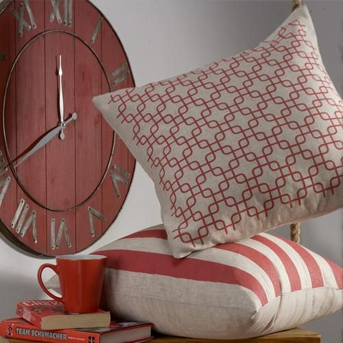 Printed honeycomb pattern on texutred fabric