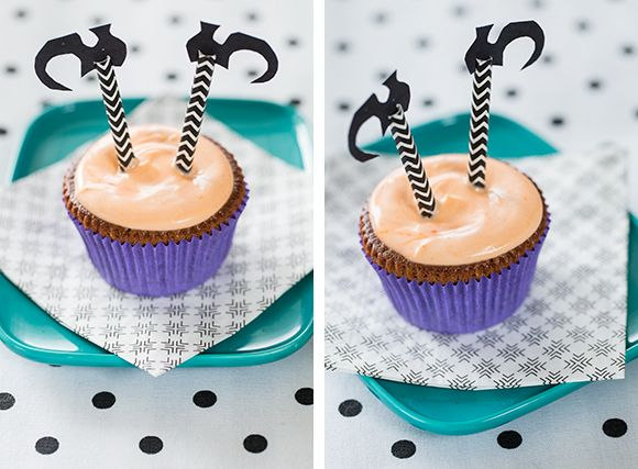 Halloween kuppikakut Kotiliesi-blogissa - Kotiliesi.fi Halloween cupcakes