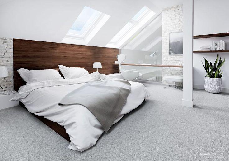 modern Bedroom by HomeKONCEPT   Projekty Domów Nowoczesnych
