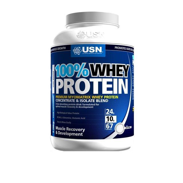 USN 100% Whey Protein - Chocolate http://www.ocado.com