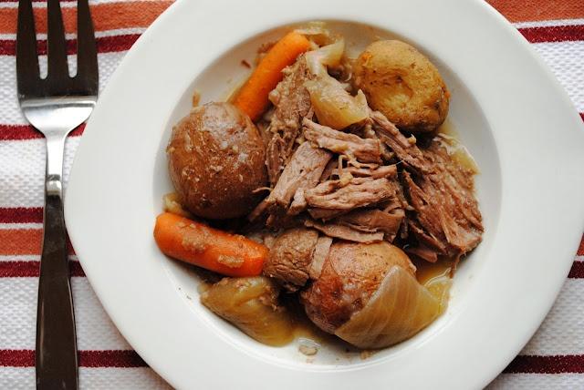 Beer Soaked Crock Pot Roast