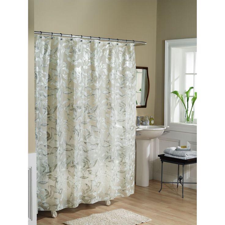 Vinyl Battenburg Lace Shower Curtain