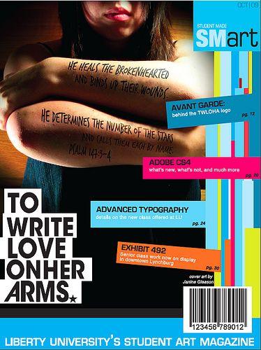 magazine covers- layout- design