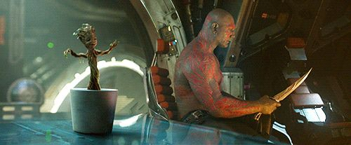 Today in Dancing-Baby-Groot News: Dave Bautista Re-Enacts Scene, New Toy Coming