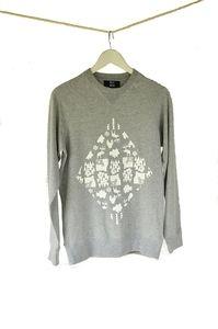 Norweigan woods printed cotton sweatshirt