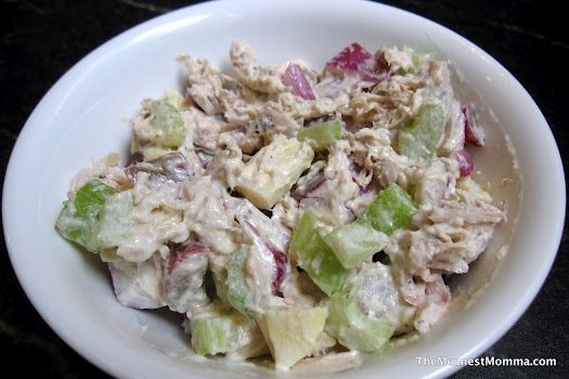 Paleo-Approved Classic Chicken Salad #paleo