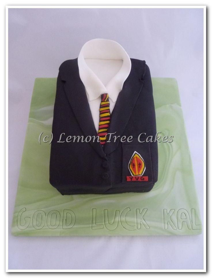 School uniform cake