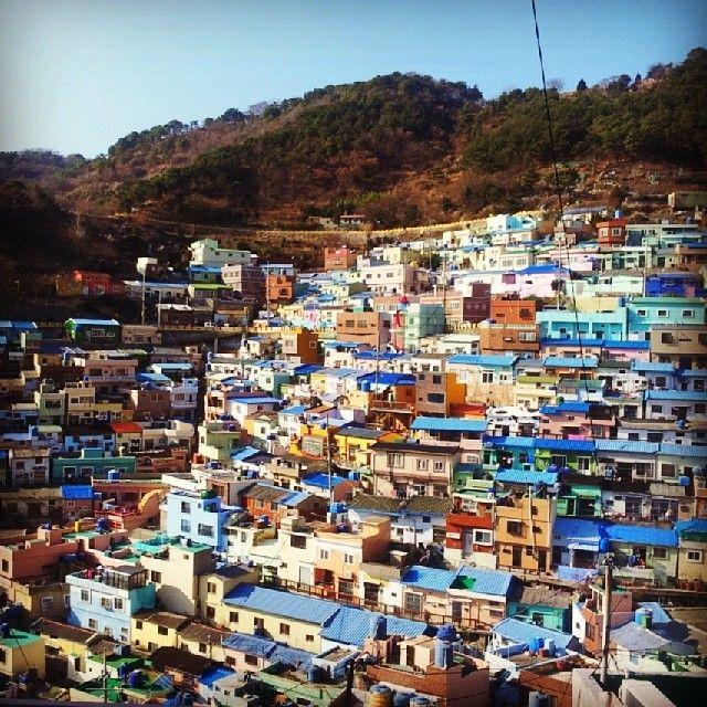 부산 감천문화마을,한국 여행,모바일가이드