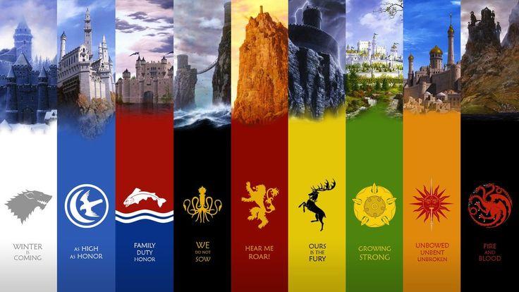 game of thrones seven kingdoms logo