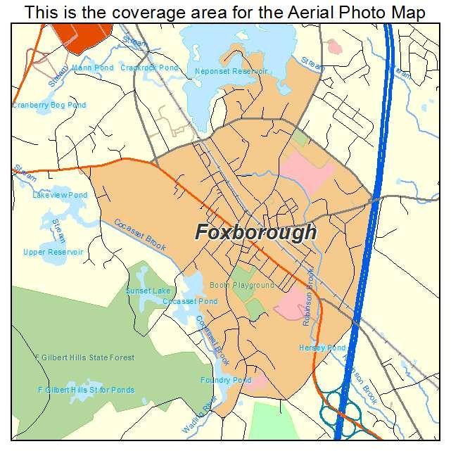 Best Maps Of Foxborough Images On Pinterest Maps - Maps massachusetts