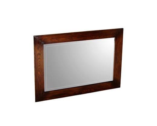 Oak Bevelled Mirror
