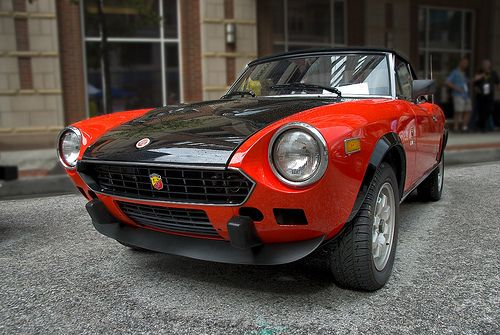 fiat abarth 124 spyder car classic cars and dream cars. Black Bedroom Furniture Sets. Home Design Ideas