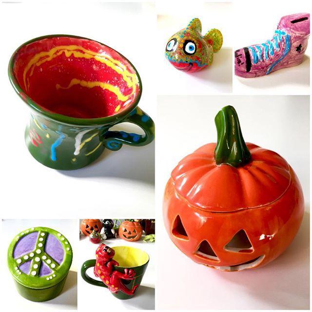 Keramiken är brända och kan hämtas. #keramikmålning #keramikkafé #Växjö #vännerochfamilj #pyssel #PysslaMedBarn #kalas #Kreativia #kopplaav #företagsevent #födelsedag