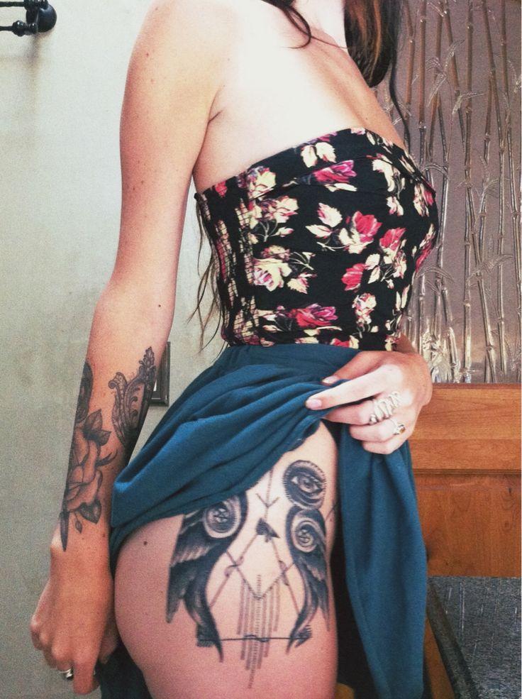 Charmaine Olivia tattoo