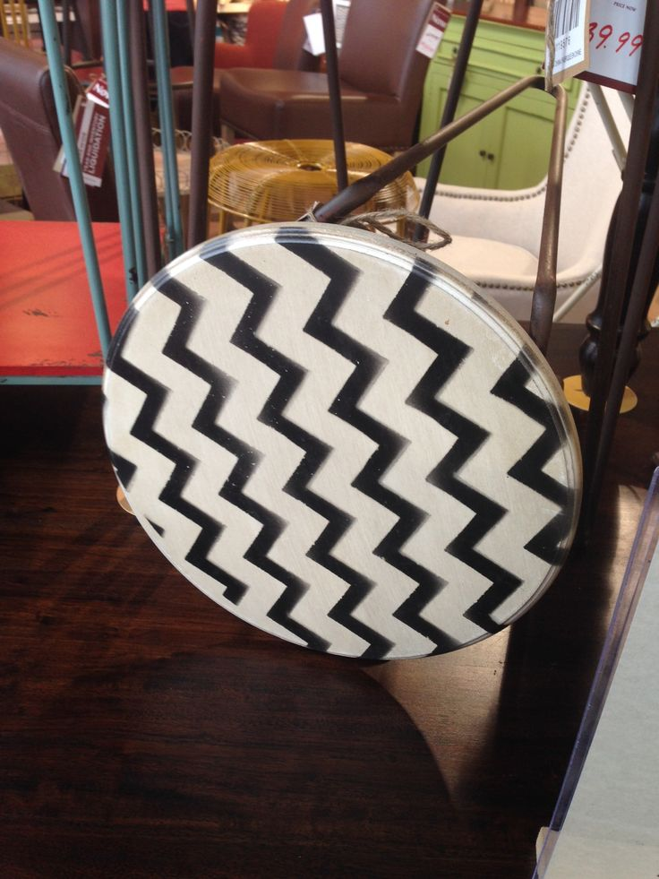 New in stock! Check out the cool chevron print! http://wickeremporium.ca