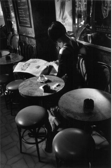 Bar de la croix Rouge Paris, photography by Fred De Casablanca