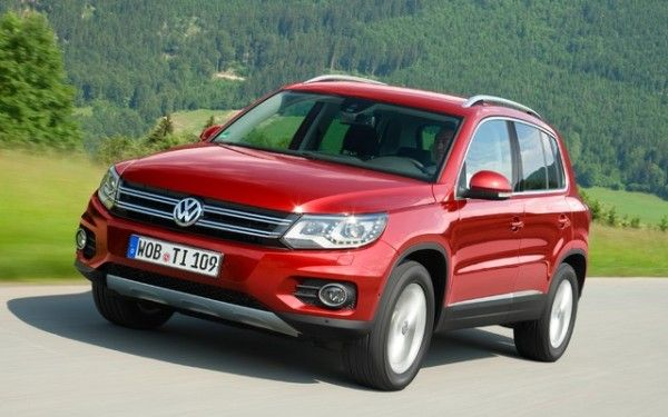2014 Volkswagen Tiguan 2WD Front Images View 600x375 2014 Volkswagen Tiguan Full Review With Images
