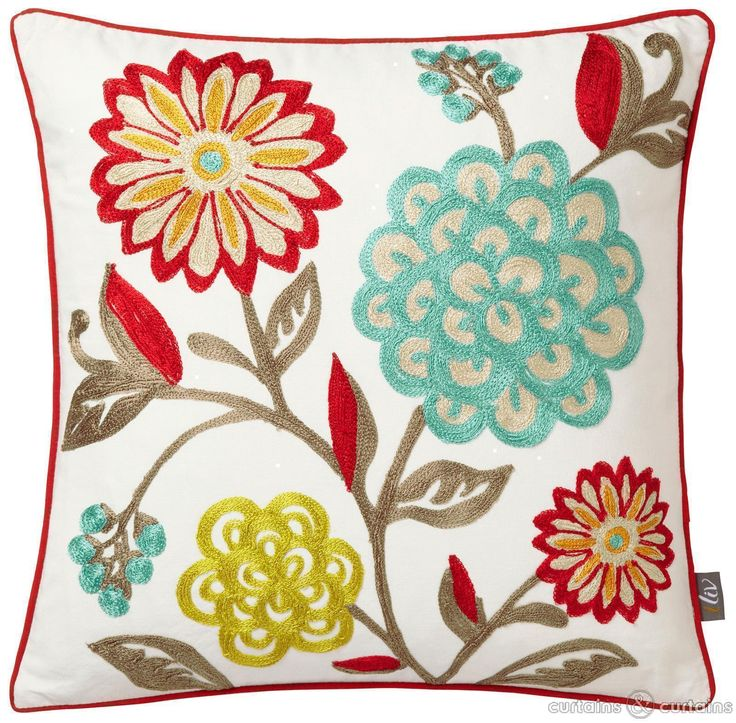 Floral wonders on this stunning cushion! #cncfavouritethings