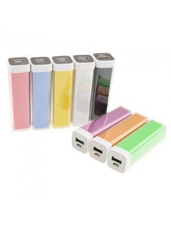 Портативное зарядное устройство 2600mAh. Внешнее портативное зарядное устройство. Зарядка всех популярных мобильных телефонов, навигаторов, игровых приставок с микро портом USB.