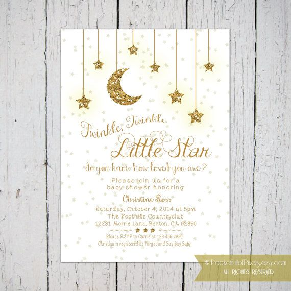 Le Little Star Baby Shower Invitation Sweet Dreams Showers Invitations
