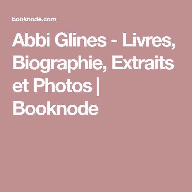 Abbi Glines - Livres, Biographie, Extraits et Photos | Booknode