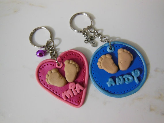 Baby Souvenirs with Polymer Clay