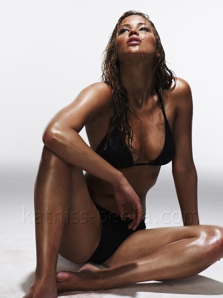 Hellloooo Katniss... New fitness inspiration, Jennifer Lawrence.