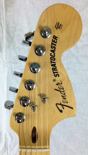 Charitybuzz: American Special Stratocaster Guitar Signed by Ronnie Wood - Lot 629502