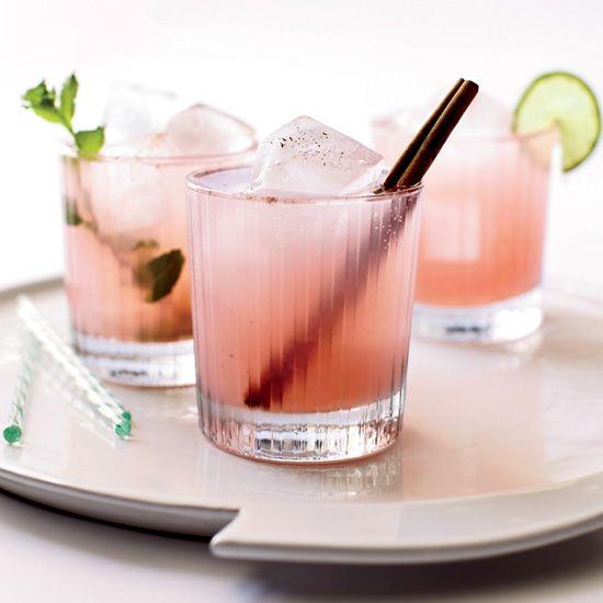 Rhum agricole, guava nectar, Navan, lime, cinnamon, soda // More Modern Summer Cocktails: http://www.foodandwine.com/slideshows/modern-summer-cocktails #foodandwine