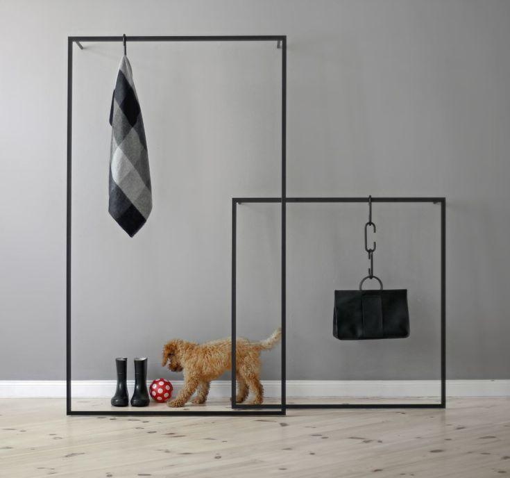 Leano Garderobe Schwarz Garderobe Stander Garderobe Metall