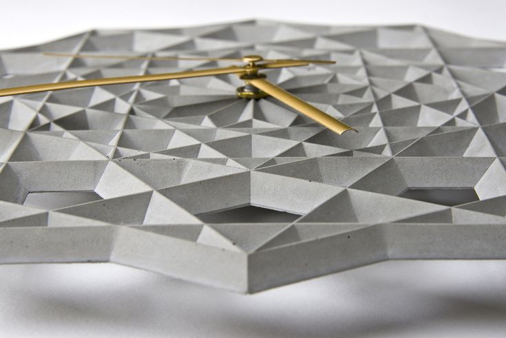 Prime Geometric Wall Clock designed by CitieSocial is based on Islamic geometric patterns