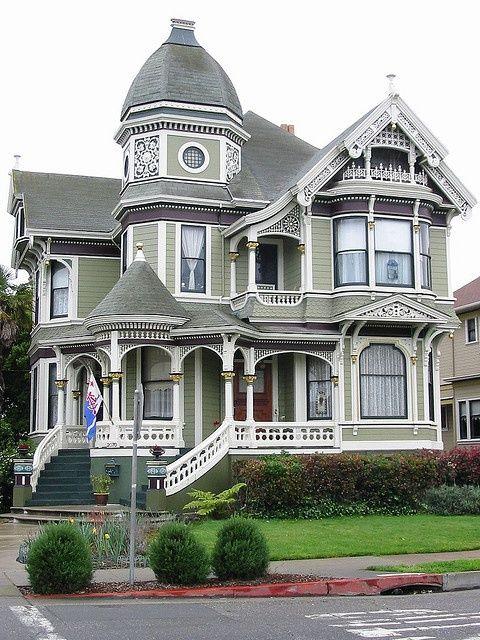 Victorian House , San Francisco, Ca