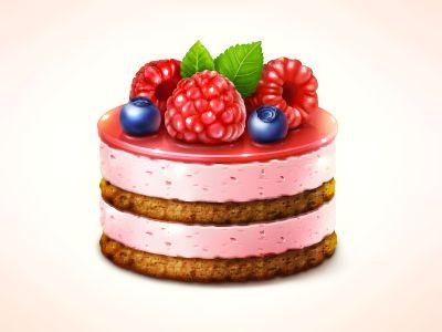 Cake, birthday, holiday, celebration, candy, food icon