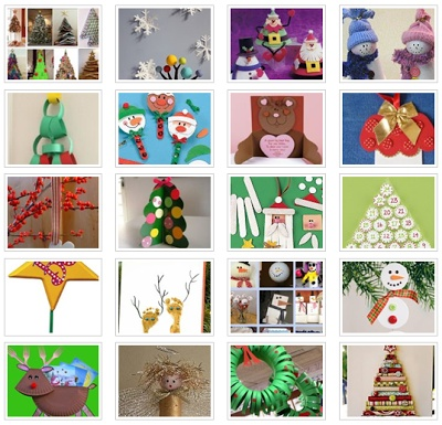 Actividades para Educación Infantil: Manualidades de Navidad APEI-facebook