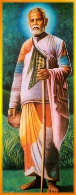 "Sant Gadge Maharaj (in Hindupedia).  ""Community-service become the base of his teachings of Baba. His teachings were: 1. Give food to the hungry; 2. Give shelter to the needy; 3. Protect the environment; A public teacher, the Gadge Baba traveled from one place to another place wearing his food pan upturned on his head and carrying his trademark broom.""  Meher Baba said Gadge Maharaj was a ""sixth plane saint,"" meaning in part that he constantly beheld the Divine."