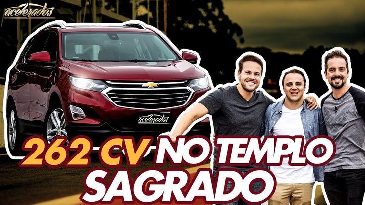 FELIPE MASSA SENTA A BOTA NO NOVO CHEVROLET EQUINOX EM INTERLAGOS! ESPEC...
