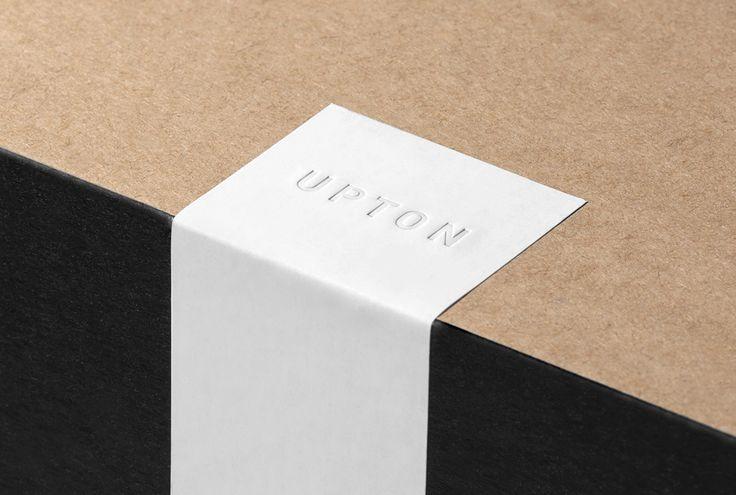Upton belts branding and packaging - Mindsparkle Mag