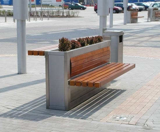 Public planter/table/bench by KFS Enterprises.  Click image to enlarge, and visit the slowottawa.ca boards >> https://www.pinterest.com/slowottawa/