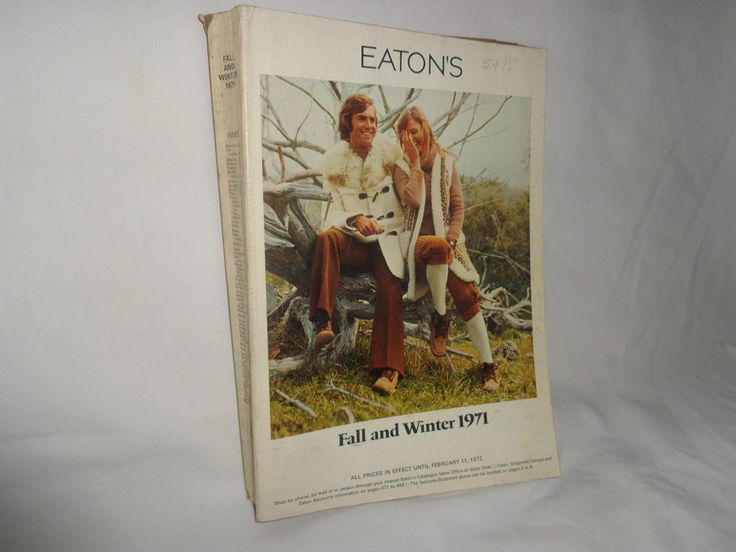 Eaton s Retro Fall Winter Catalogue Catalog 1971 Reference Material
