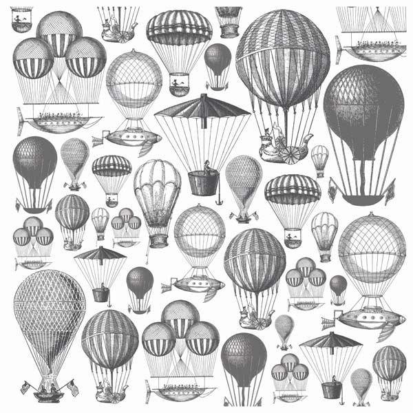 globo aerostatico dibujo - Buscar con Google