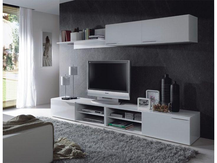 M s de 25 ideas incre bles sobre muebles para televisores for Muebles bajos para salon