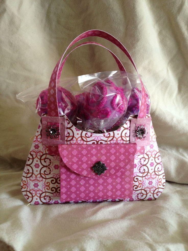 how to make a mini paper handbag