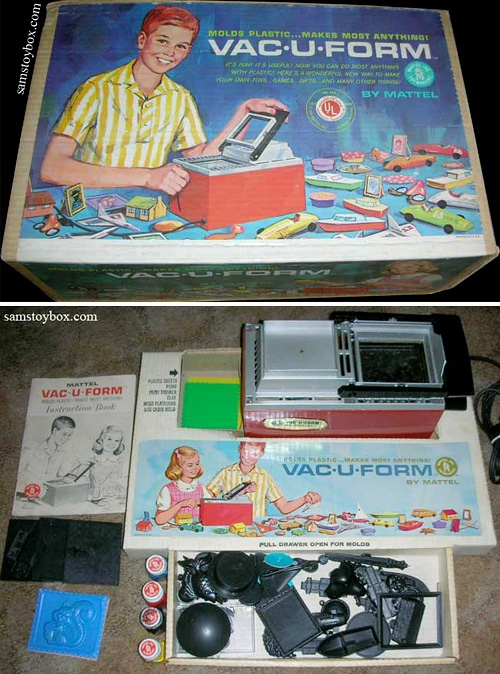 Toys From The 60s : Best images about vacuum former on pinterest